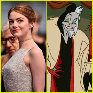 Emma Stone in Talks to Play Cruella de Vil in Disney Origin Story