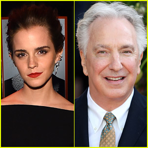 Emma Watson Mourns Alan Rickman After His Death - Statement