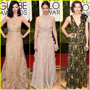 Eva Green Shimmers at the Golden Globes 2016