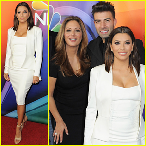Eva Longoria Reveals Her 'Real Housewives' Tagline - Watch Here!