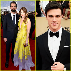 Finn Wittrock & Hamish Linklater Bring Lovely Dates to SAG Awards 2016