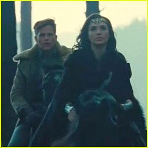 First 'Wonder Woman' Footage Stars Gal Gadot & Chris Pine!