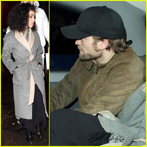 FKA twigs Celebrates Birthday With Robert Pattinson