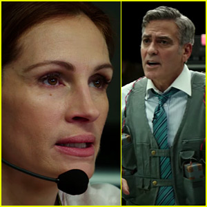 George Clooney & Julia Roberts Reunite in 'Money Monster' - First Trailer Released!