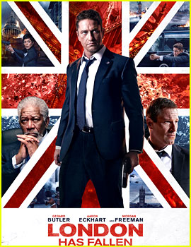 Gerard Butler Gets Into Action on 'London Has Fallen' Poster