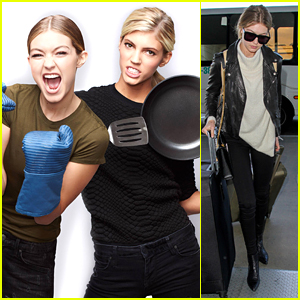 Gigi Hadid & Devon Windsor Will Have a Cook-Off on 'MasterChef Celebrity Showdown'