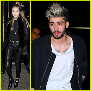 Gigi Hadid Posts First Snapchat Video of Zayn Malik