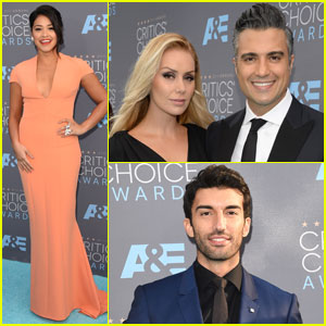 Gina Rodriguez & Jaime Camil Rep 'Jane the Virgin' at Critics' Choice Awards 2016
