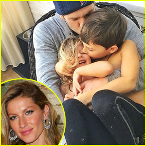 Tom Brady's Kids Console Him After Devastating Football Loss, Gisele Bundchen Thanks His Fans