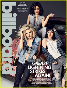 Grease: Live's Pink Ladies Are Front & Center for 'Billboard' Mag