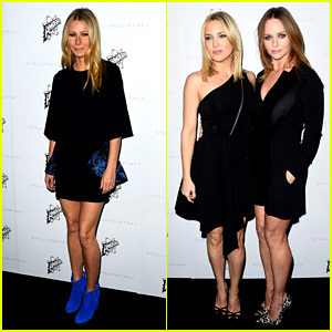 Gwyneth Paltrow & Kate Hudson Support Stella McCartney at LA Fashion Show!