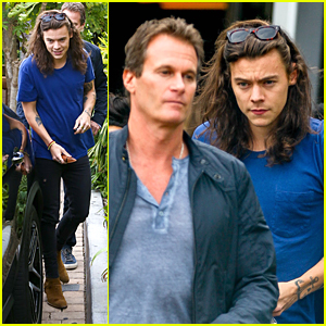 Harry Styles Lunches With Rande Gerber in Malibu