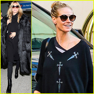 Heidi Klum Gets a Head Start on the Award Show Season!