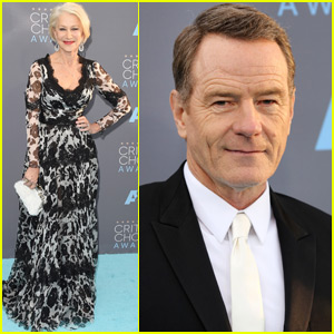 Helen Mirren & Bryan Cranston Represent 'Trumbo' at Critics' Choice Awards 2016