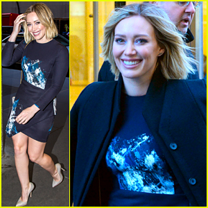Hilary Duff Hits NYC to Promote 'Younger'