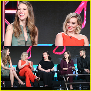 Hilary Duff & 'Younger' Cast Announce Season 3 Renewal at TCA 2016!