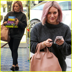 Hilary Duff's New Hair Matches the LA Sunset!