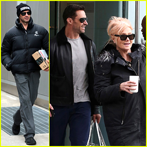 Hugh Jackman Had a Mini 'X-Men' Reunion in Hungary!