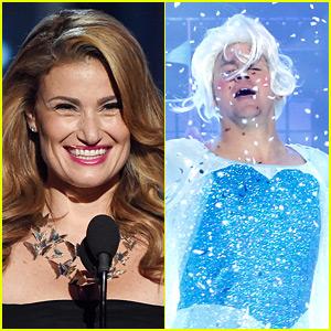 Idina Menzel Approves of Channing Tatum's Elsa & 'Let It Go'