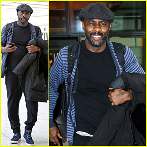 Idris Elba Jets Out of Town Ahead of DJ Gig