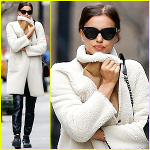 Irina Shayk Bundles Up in Frigid NYC