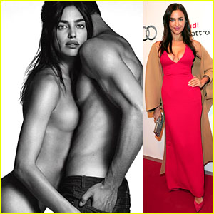 Irina Shayk Strips Down Completely for Givenchy Ad Campaign