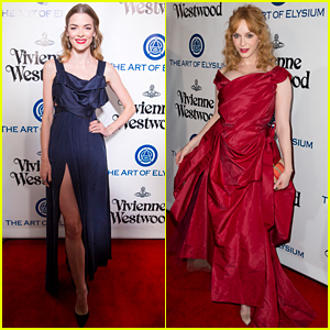 Jaime King & Christina Hendricks Sizzle at the Art of Elysium!