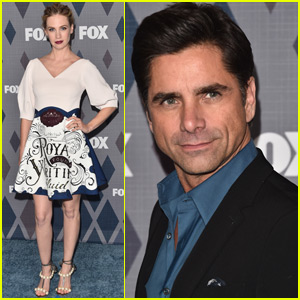 January Jones Stuns at the Fox All-Star Party