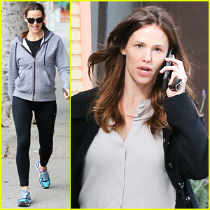 Jennifer Garner Steps Out After Those Ricky Gervais Comments