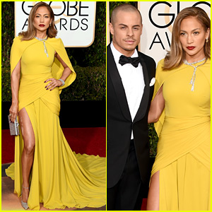 Jennifer Lopez & Casper Smart Are One Hot Couple at Golden Globes 2016!