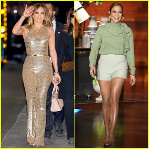 Jennifer Lopez Talks Spending Holiday's with Beau Casper Smart on 'Ellen' - Watch Here!