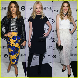 Jessica Alba Steps Out at 'Who What Wear' Target Launch Party With Kate Bosworth & Jamie King