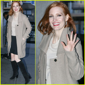 Jessica Chastain Shows Her Support for Her Favorite 'Star Wars' Jedi