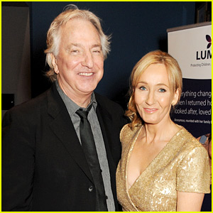 J.K. Rowling Mourns Alan Rickman: 'We Have All Lost a Great Talent'