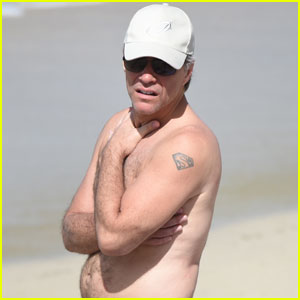 Jon Bon Jovi Shows Off Shirtless Body During St. Barts Vacay