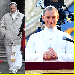 Jude Law Transforms Into 'The Young Pope'