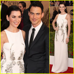 Julianna Margulies Brings Her Hot Husband to SAG Awards 2016