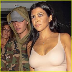 Justin Bieber Jokes About Being 'Used' By Kourtney Kardashian