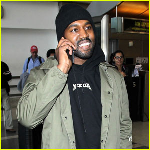 Kanye West Asked About Wiz Khalifa Feud at Airport (Video)
