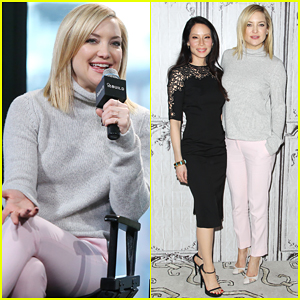 Kate Hudson & Lucy Liu Team Up for 'Kung Fu Panda 3' In NYC!