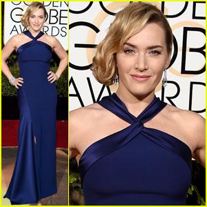 Kate Winslet is a Ralph Lauren Beauty at Golden Globes 2016