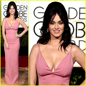 Katy Pery Completes Her Golden Globes Hair with a Bump-It!