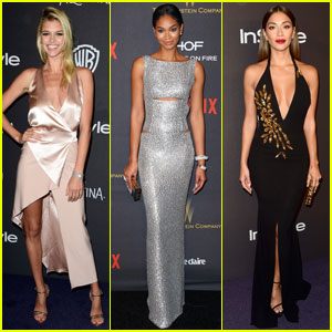 Kelly Rohrbach is All Smiles at Golden Globes 2016 After-Party Following Leonardo DiCaprio Split