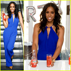 Kelly Rowland Introduces Her Seagram's Escapes Signature Flavors