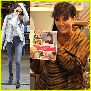 Kendall Jenner Shops With Mom Kris For 'KUWTK' Filming