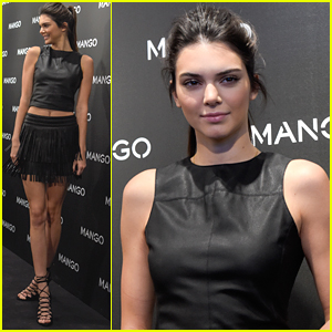 Kendall Jenner Hits Mango's Tribal Spirit Launch in Barcelona