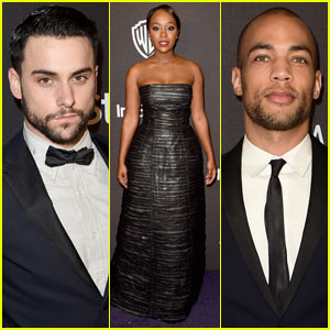 Jack Falahee & Kendrick Sampson Suit Up for InStyle's Golden Globes After-Party 2016