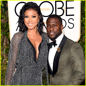 Kevin Hart Brings His Fiancee Eniko Parrish to Golden Globes 2016