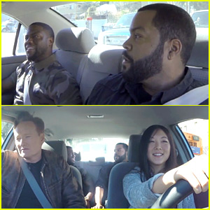 Kevin Hart & Ice Cube Ride Along with Conan's Student Driver!