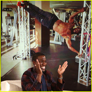 Kevin Hart Shows His Ripped Body, Describes 'Saving' Lady Gaga's Life at the Golden Globes!
